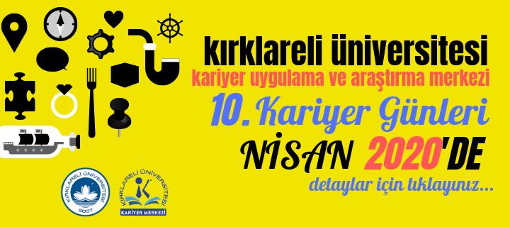 Kırklareli Üniversitesi 10. Kariyer Günleri