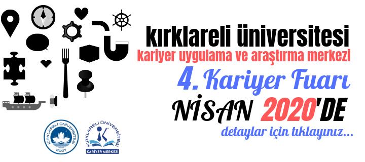 Kırklareli Üniversitesi 4. Kariyer Fuarı